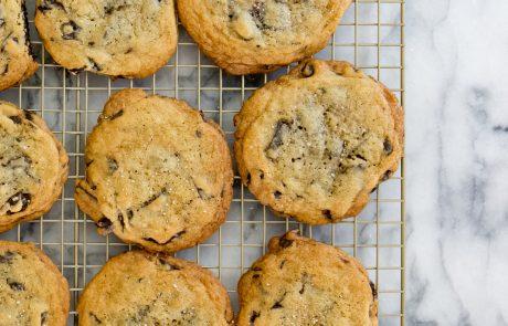 salted chocolate chip cookies, cookies, chocolate chip, norelle vanherk, antm, americas next top model, norelle